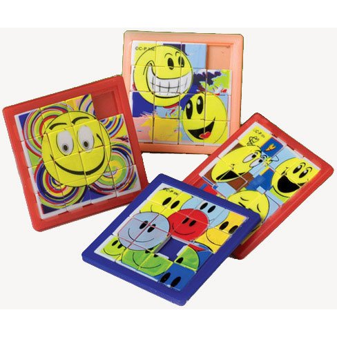 Smiley Face Slide Puzzles - 1