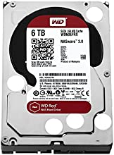 Comprar WD Red WD60EFRX - Disco duro para dispositivos NAS de sobremesa (6 TB, Intellipower, SATA 6 GB/s, 64 MB de caché, 3.5