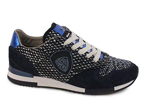 Blauer USA 6FWORUNORI/WOL Sneakers Donna Scamosciato Ocean Ocean 37