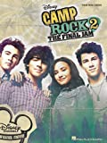 VARIOUS Camp Rock 2 The Final Jam Piano Vocal Guitar Book