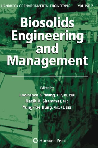 Biosolids Engineering And Management (Handbook Of Environmental Engineering)