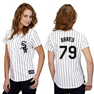 Jose Abreu Chicago White Sox Home Ladies Replica Jersey by Majestic by Majestic