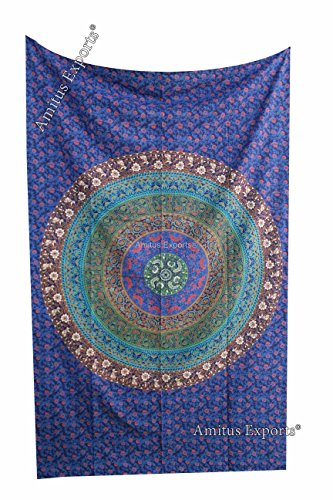amitus-exports-r-1-x-dome-circle-84x54-approx-inches-blue-multi-color-twin-size-cotton-fabric-multi-