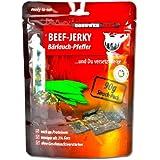 Conower Jurkey Beef Jerky - Bärlauch Pfeffer, 1er Pack (1 x 90 g Packung)