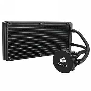 Corsair Watercooling pour CPU Hydro Radiateur 280mm - Series H110 (CW-9060014-WW)
