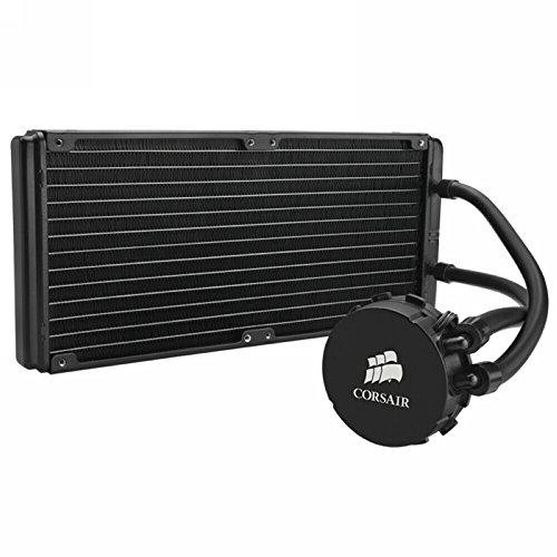 Corsair Hydro Series H110 280 mm High Performance Liquid CPU Cooler (H100 Water Cooler compare prices)