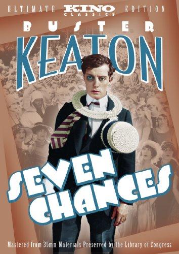 Seven Chances [DVD] [1925] [Region 1] [US Import] [NTSC]