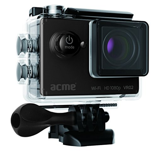 Acme 143409 VR02 Full HD Sports/Action cam mit WiFi