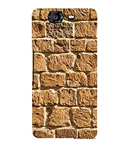 Beautiful Rock Wall 3D Hard Polycarbonate Designer Back Case Cover for Micromax Canvas Knight A350