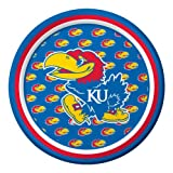 Creative Converting Kansas Jayhawks Dessert Paper Plates (8 Count) at Amazon.com