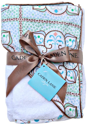 Caden Lane Modern Vintage Collection Moroccan Hooded Towel, Boy, Infant