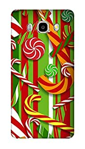SWAG my CASE PRINTED BACK COVER FOR SAMSUNG GALAXY On8 Multicolor
