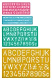 C-Thru Plastic Lettering Guide Set (02145)