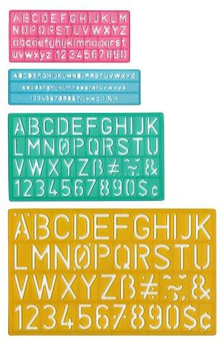 Lettering Stencil Guide Set
