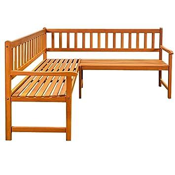 eckbank holz gartenbank parkbank bank holzbank gartenm bel us231. Black Bedroom Furniture Sets. Home Design Ideas