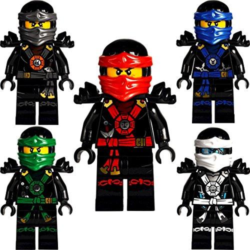 Lego ninjago 5er set minifiguren deepstone kai lloyd jay zane und