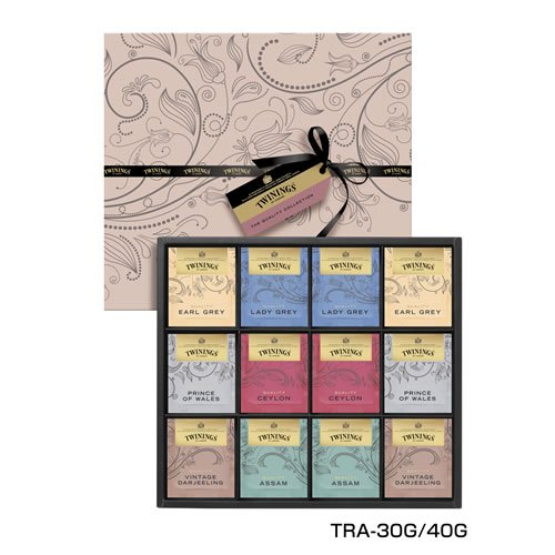 TWININGS (トワイニング)紅茶 ギフト クオリティ ティー バッグ コレクション 60袋 TRA-30G