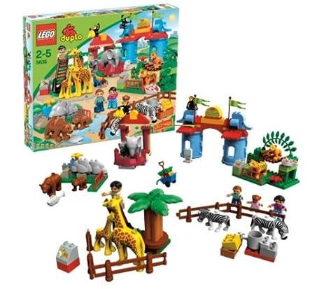 LEGO - 5635 - Jeu de construction - DUPLO LEGOville - Le zoo géant