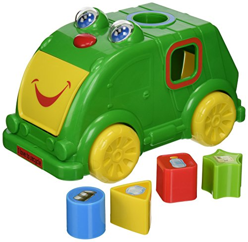 Kidz Delight Silly Sam and Friends Recycle Me, Green (Discontinued by Manufacturer)