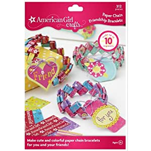 American girl crafts paper chain friendship for American girl craft kit