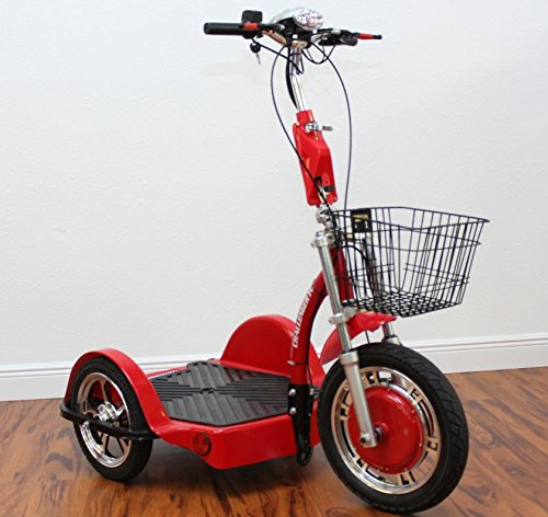 Challenger X Sit Or Stand Riding Position Electric Power 750W Mobility Scooter