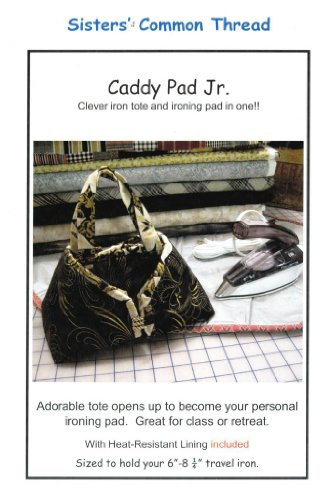 Caddy Pad Jr. Iron Tote & Ironing Pad in One Pattern, with Heat-Resistant Lining Included (Iron Sister compare prices)