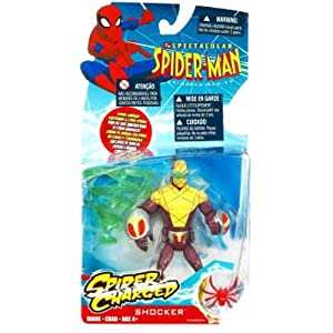 Spectacular Spider-Man Animated Action Figure Shocker (Spider Charged!) by Spider-Man