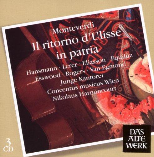 Il Ritorno D'ulisse in patria - Monteverdi - CD