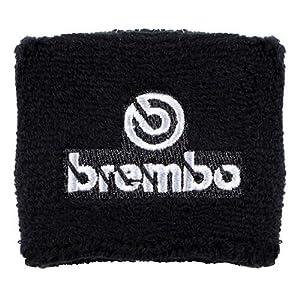 Brembo Black Clutch Reservoir Sock Cover Available in Black/Red and Black/Gray, Fits Honda CBR 600rr 1000rr, Suzuki GSXR 600 750 1000, Yamaha R1 R6 R6s, Kawasaki ZX6R ZX9R ZX10R ZX12R
