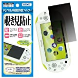 Japan Made. ASDEC [All-round Privacy Filter 2 (Screen Protector)] for Sony PlayStation Vita PCH-2000. Ultra-thin 4-Way Anti-Spy (360 Degree Privacy) Filter with Anti-glare & Hard coating [1-Pack]