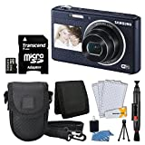 Samsung DV180 16.2MP Smart Wi-Fi Digital Camera + Compact Case + 16GB micro SDHC Card + Table Top Tripod + Cleaning Kit + Cleaning Pen + Deluxe Accessory Bundle - International Version (No Warranty)