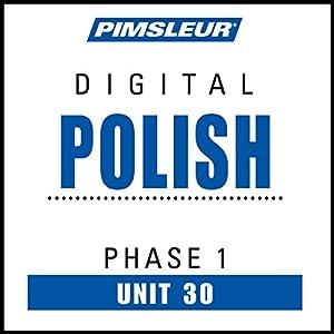 Polish Phase 1, Unit 30 Audiobook