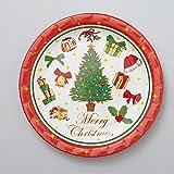 FBAPT364 紙皿8枚入 メリークリスマス
