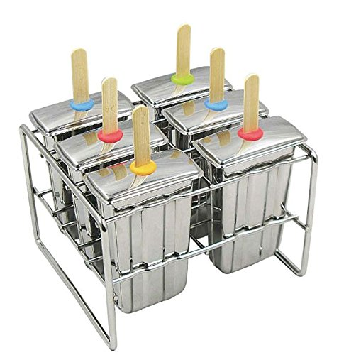 Onyx Stainless Steel Popsicle Mold (Stainless Steel Ice Cube Tray compare prices)