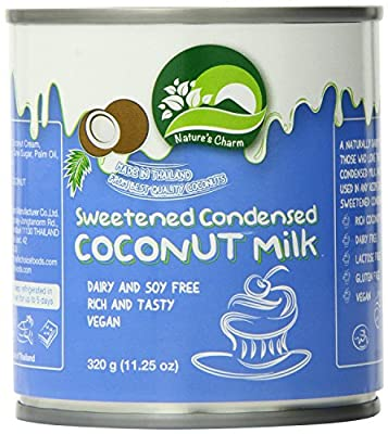 Nature's Charm Sweetned Condensed Coconut Milk, 11.25 Oz.