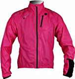 Polaris Aqualite Extreme Womens Waterproof Bike / Cycling Jacket 16 Fluo Pink