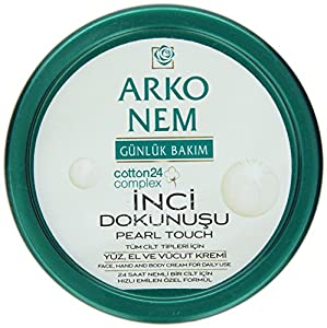 Arko 300ml Nem pearl Touch Face/ Hand and Body Cream for Daily Use