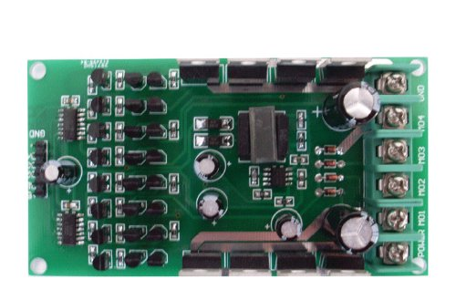 0-24V Rated 15A Peak 45A Stepper & DC Motor Driver Precise Speed Control