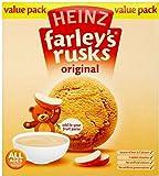 Heinz Farley's Rusks Original 4mth+ (18 per pack - 300g)