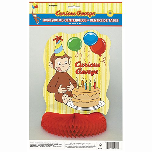 "14"" Honeycomb Curious George Decoration"