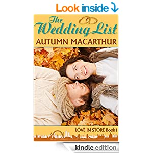 The Wedding List: A London Christian romance (Love In Store Book 1)