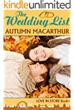 The Wedding List: A London Christian romance (Love In Store Book 1) (English Edition)