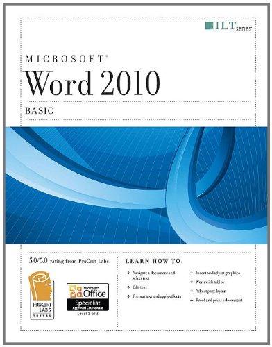 Word 2010: Basic (Ilt)
