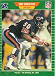 1989 Mike Singletary Football Card #50 Chicago Bears