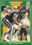 1989 Mike Singletary Football Card #50 Chicago Bears
