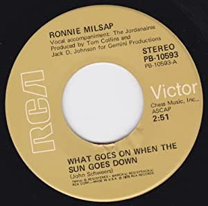 Ronnie Milsap What Goes On When The Sun Goes Down Love