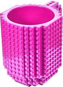 AWESOME Building Brick Mug - Pink