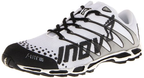 Inov-8 F-lite 195 Shoe,White/Black,11.5 M US