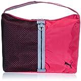 Puma Women's Shoulder Bag (Virtual Pink, Black and Tradewinds)