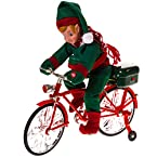 Animated Elf on Bike